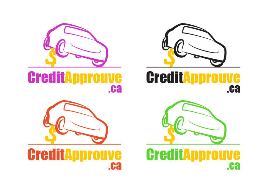 #123 for Logo Design for Credit approuve .ca by SkyWalkerAL