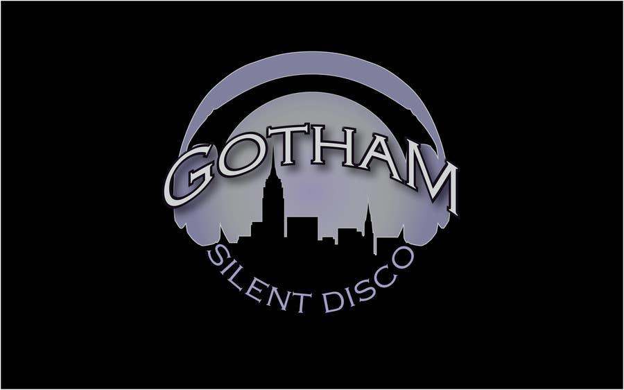 Bài tham dự cuộc thi #                                        34                                      cho                                         Design a Logo for Gotham Silent Disco