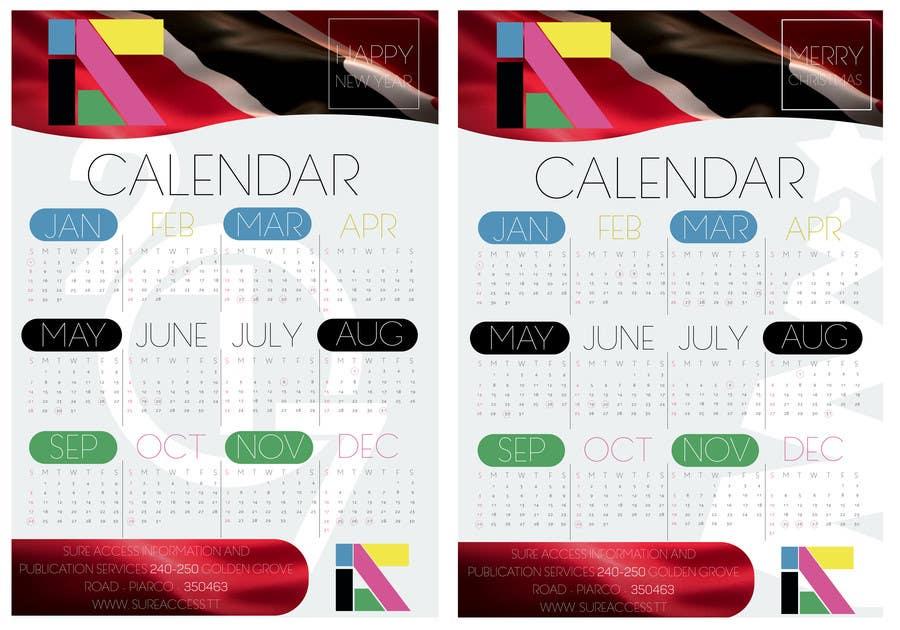 Конкурсная заявка №33 для I need some Graphic Design for a 2017 Calendar