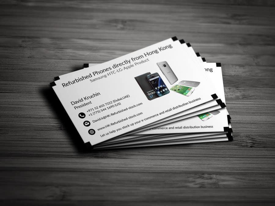 Entry #67 by rizviahamed100 for Design some Business Cards | Freelancer