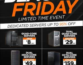 #13 for Design a Black Friday Flyer for Web Hosting Company by Ecku
