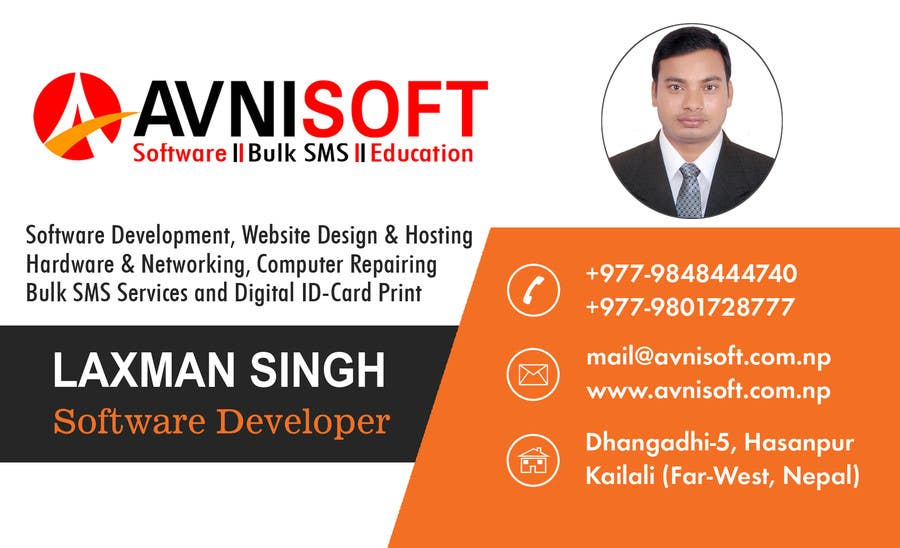 Contest Entry 1 For ID Card And Business Design