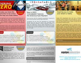 nº 4 pour Flyer Design for Equipe Industries par su1d