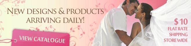 Konkurrenceindlæg #101 for Banner Ad Design for Dream Wedding Store