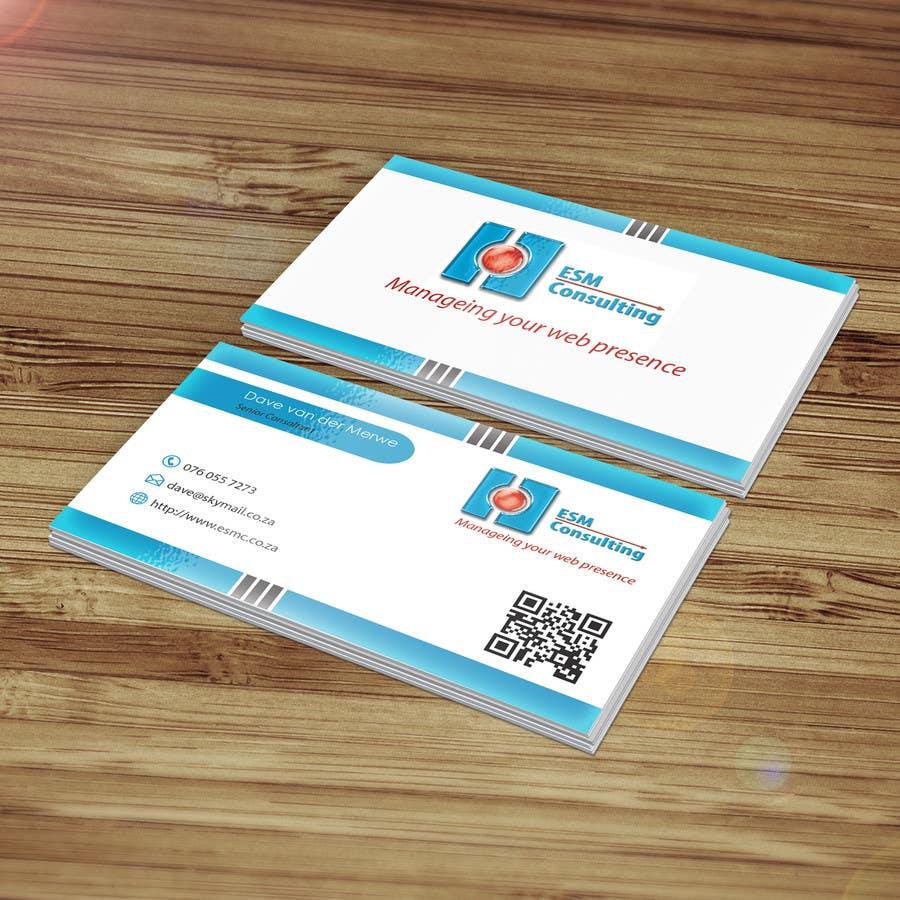 Bài tham dự cuộc thi #                                        10                                      cho                                         Design Business Cards for ESM Consulting
