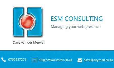 Bài tham dự cuộc thi #                                        26                                      cho                                         Design Business Cards for ESM Consulting