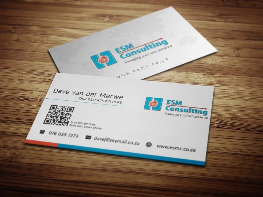 Bài tham dự cuộc thi #                                        18                                      cho                                         Design Business Cards for ESM Consulting