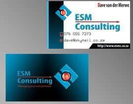 #13 cho Design Business Cards for ESM Consulting bởi jinsktpna