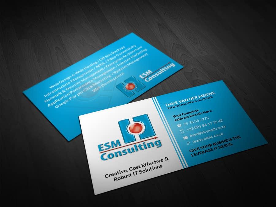 Bài tham dự cuộc thi #                                        22                                      cho                                         Design Business Cards for ESM Consulting