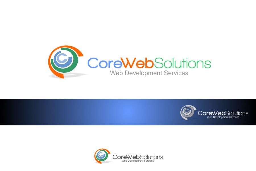 Kilpailutyö #248 kilpailussa Logo Design for Core Web Solutions