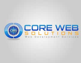 #235 para Logo Design for Core Web Solutions por mazemind