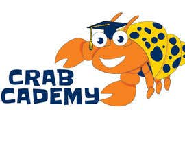 #24 for New Crab Academy Logo for Hermit Crabs by tjayart