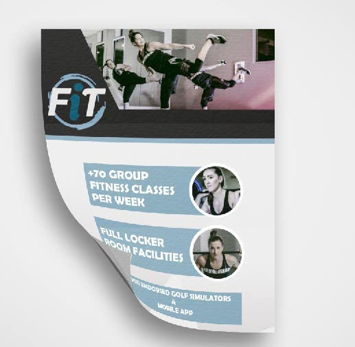 entry 2 by mbayleea for luxury gym pricing flyer freelancer
