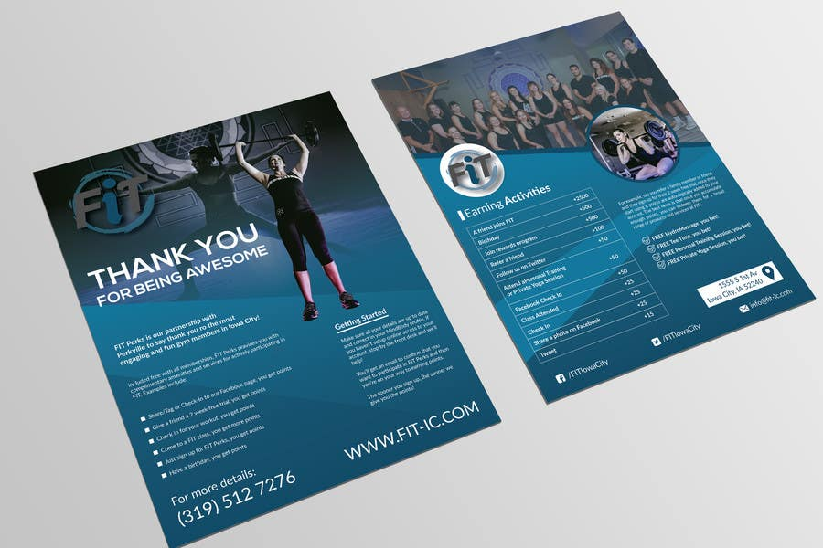 entry 8 by bivash7 for luxury gym pricing flyer freelancer