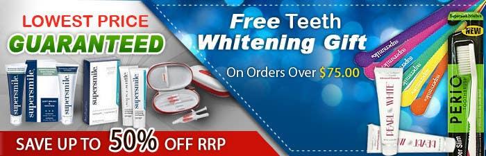 Конкурсная заявка №56 для Graphic Design for Teeth Whitening (Online Retailer)