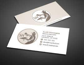 #29 for Masonry contractor Business Card and logo by BikashBapon