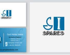 #136 para Business Card Design for SI - Spares por usmanvardag