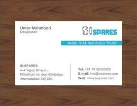 #82 pentru Business Card Design for SI - Spares de către endlessdesigning