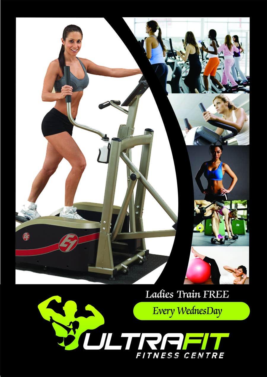 Inscrição nº                                         20                                      do Concurso para                                         Design a Flyer for Ultrafit ladies train for free