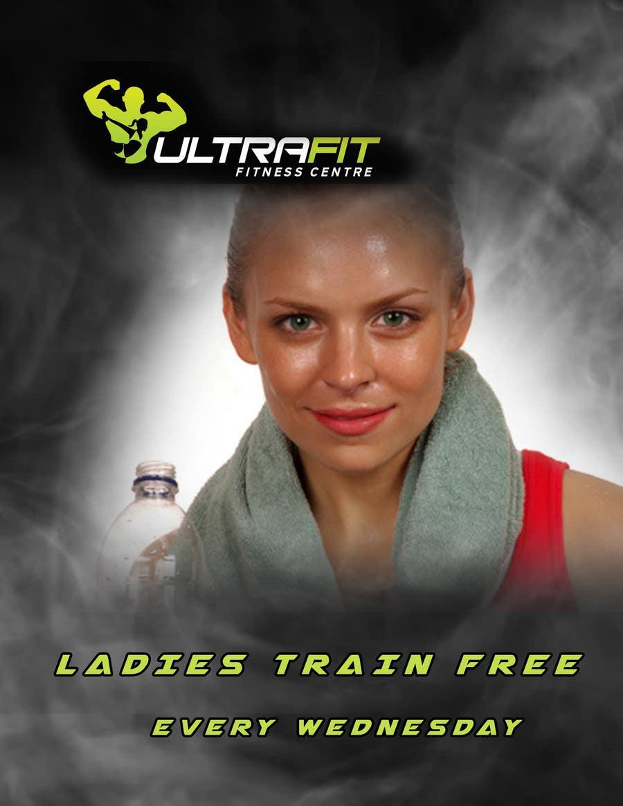 Inscrição nº                                         24                                      do Concurso para                                         Design a Flyer for Ultrafit ladies train for free