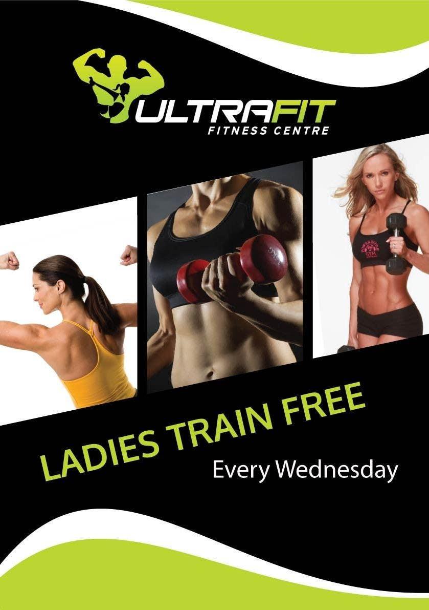 Inscrição nº                                         8                                      do Concurso para                                         Design a Flyer for Ultrafit ladies train for free