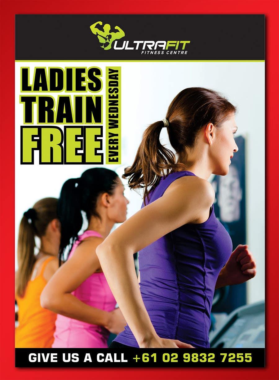 Inscrição nº                                         9                                      do Concurso para                                         Design a Flyer for Ultrafit ladies train for free