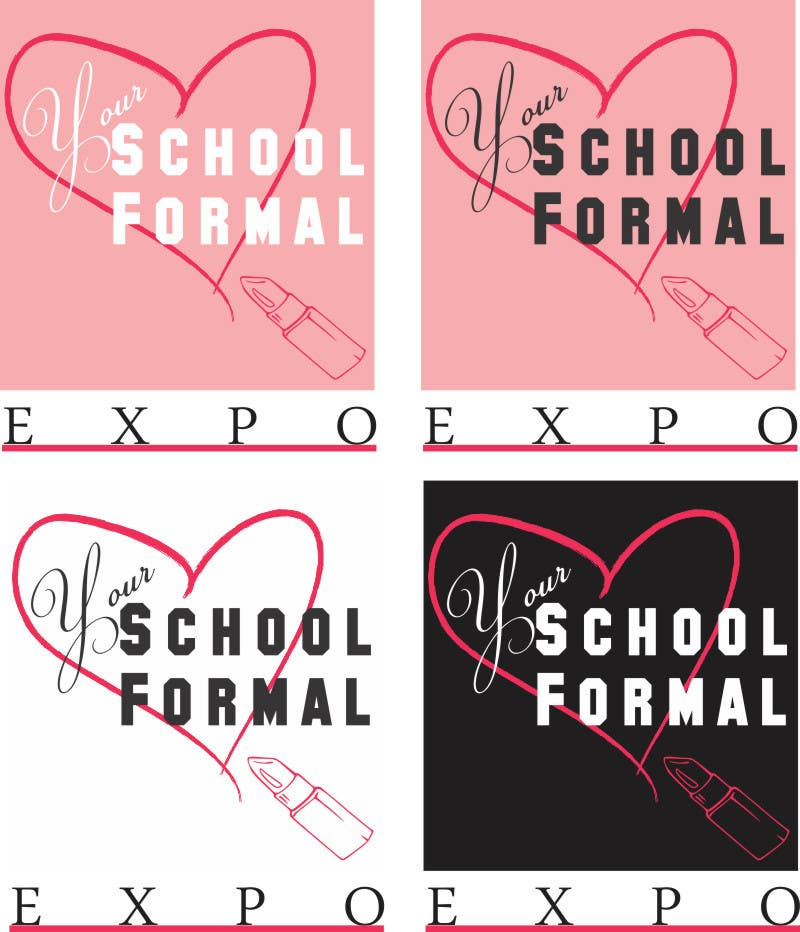 Proposition n°                                        103                                      du concours                                         Logo Design for Your School Formal Expo