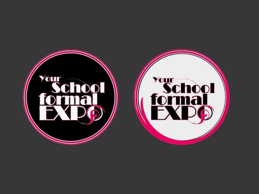 Proposition n°                                        21                                      du concours                                         Logo Design for Your School Formal Expo