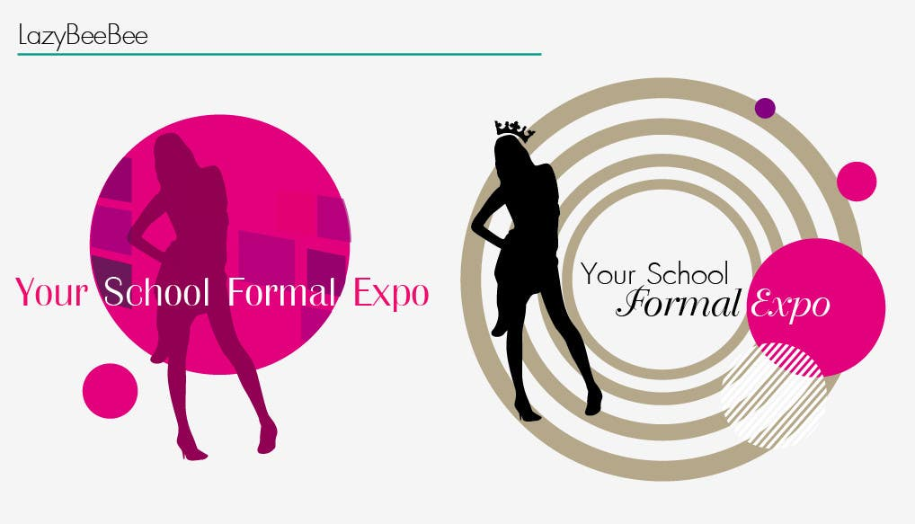 Proposition n°                                        20                                      du concours                                         Logo Design for Your School Formal Expo