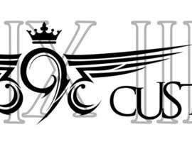 #125 для Logo Design for 393 CUSTOMS от Glukowze