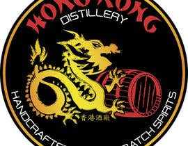 #37 for Design a sticker for our Hong Kong Distillery logo by drugbound