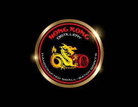#41 for Design a sticker for our Hong Kong Distillery logo by chanmack