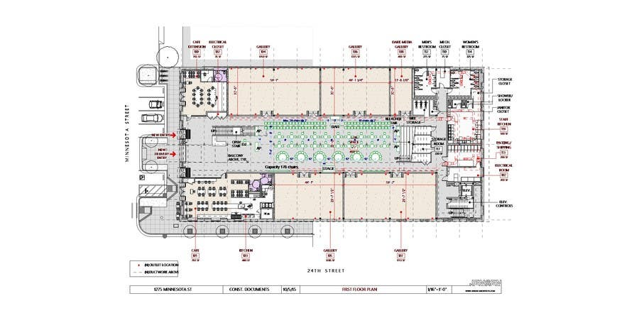 Entry #1 by kolio5 for CAD needed for event venue layout (stage ...
