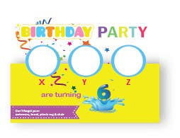 Contest Entry 8 For 6th Birthday Party Invitations