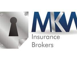 Nambari 412 ya Logo Design for MKW Insurance Brokers  (replacing www.wiblininsurancebrokers.com.au) na doarnora
