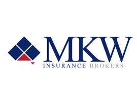 jtmarechal tarafından Logo Design for MKW Insurance Brokers  (replacing www.wiblininsurancebrokers.com.au) için no 396
