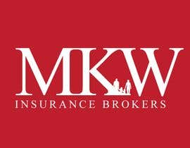 jtmarechal님에 의한 Logo Design for MKW Insurance Brokers  (replacing www.wiblininsurancebrokers.com.au)을(를) 위한 #381
