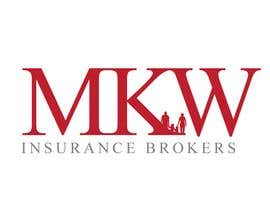 jtmarechal님에 의한 Logo Design for MKW Insurance Brokers  (replacing www.wiblininsurancebrokers.com.au)을(를) 위한 #379