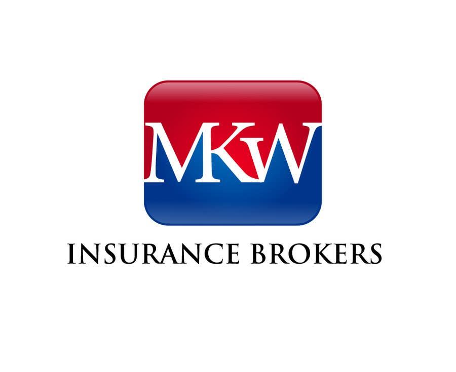 Wettbewerbs Eintrag #320 für Logo Design for MKW Insurance Brokers  (replacing www.wiblininsurancebrokers.com.au)