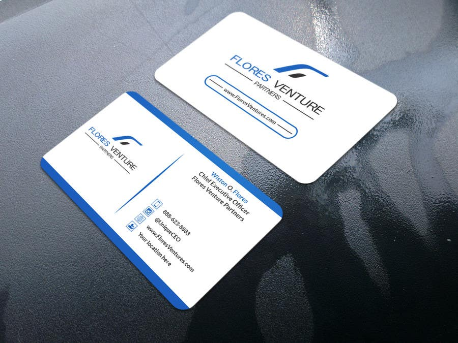 Entry #50 by SandipBala for Elegant Professional CEO Business Card ...