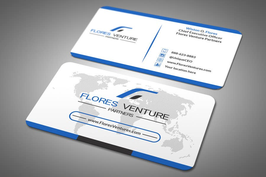 Entry 79 by sandipbala for elegant professional ceo business card ceo business card colourmoves