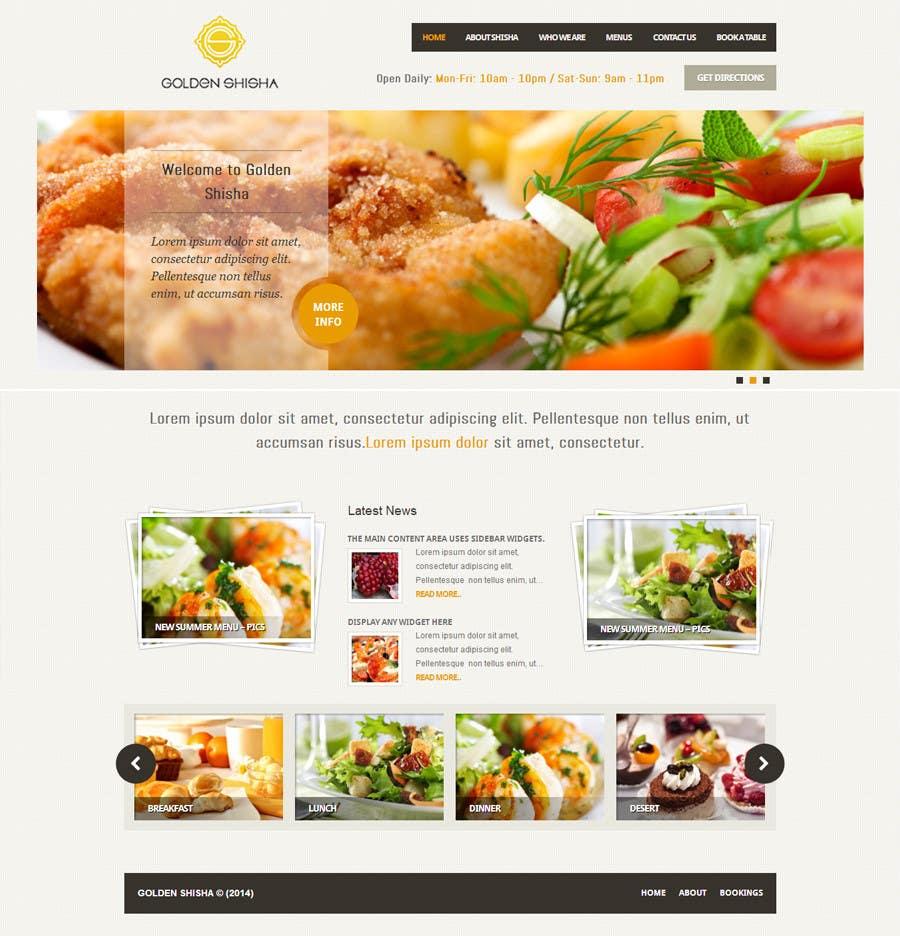 Inscrição nº                                         35                                      do Concurso para                                         Создание веб-сайта for the thegoldenshisha.com