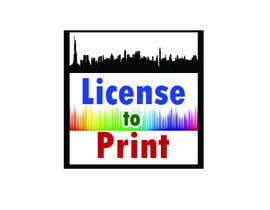 #54 untuk Design a Logo for License to Print oleh vivekvaishnav
