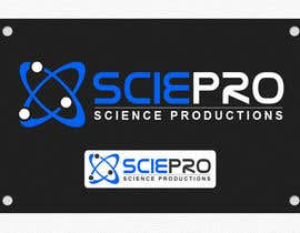 #16 pentru Logo Design for SciePro - science productions de către niwrek