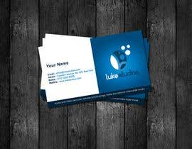 #49 para Business Card Design for Luke's Studio de StrujacAlexandru