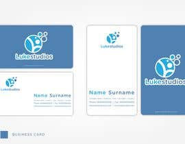 #2 para Business Card Design for Luke's Studio de Sevenbros