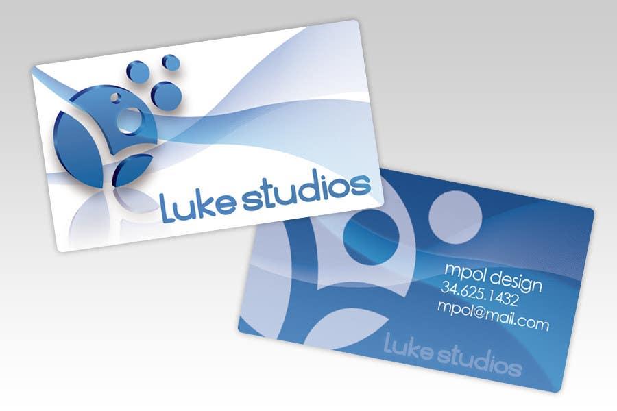 Participación en el concurso Nro.82 para Business Card Design for Luke's Studio