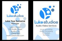Graphic Design Contest Entry #87 for Business Card Design for Luke's Studio