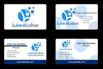 Graphic Design Contest Entry #88 for Business Card Design for Luke's Studio