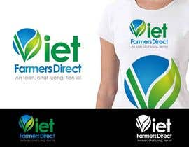#227 untuk Logo Design for Viet Farmers Direct oleh arabi10